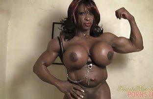 Crne lezbijske striptizete
